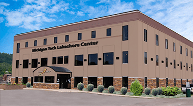 Facade of systems control houghton office